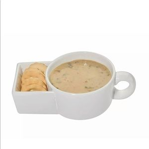 Other - Soup and cracker bowl